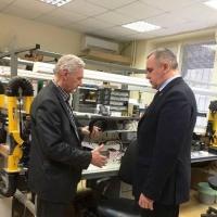 Глава администрации Ворошиловского района города посетил ООО НПП Вибробит  с рабочей поездкой